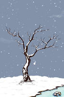 Winter iphone Wallpaper by harwenzhang