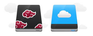 cloud drive icon by harwenzhang