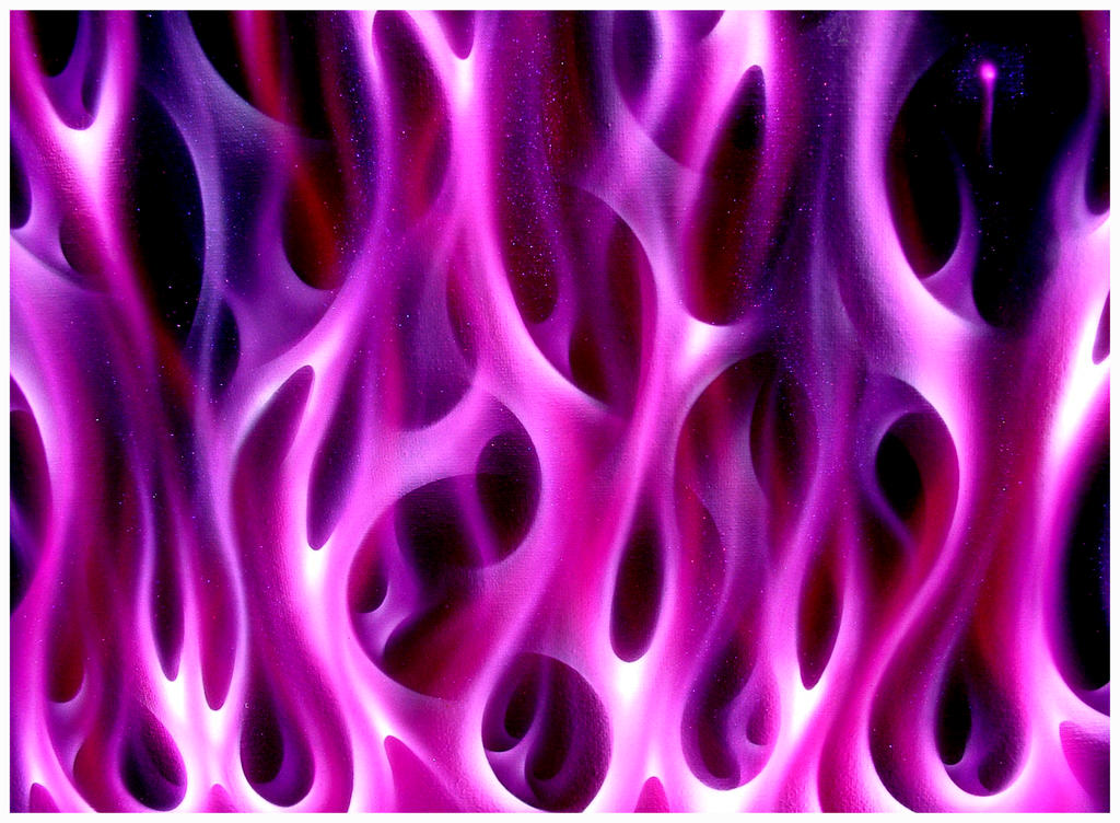 Pink Flame Background