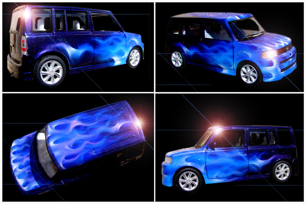 Scion Xb My Favorite Box Car By Hardart Kustoms On Deviantart