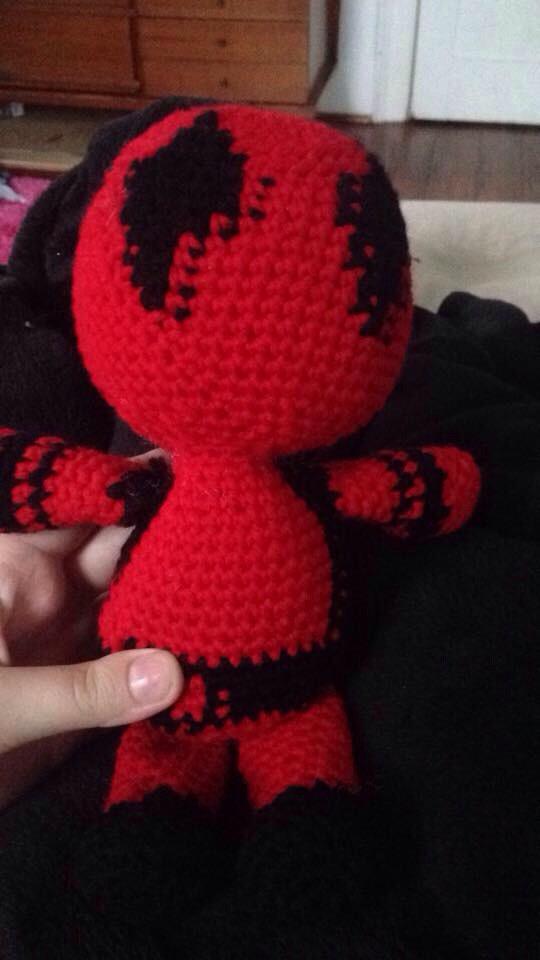 Crochet Deadpool By Riahrose426 On Deviantart