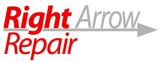 Right Arrow Repair Logo by ChewySmokey