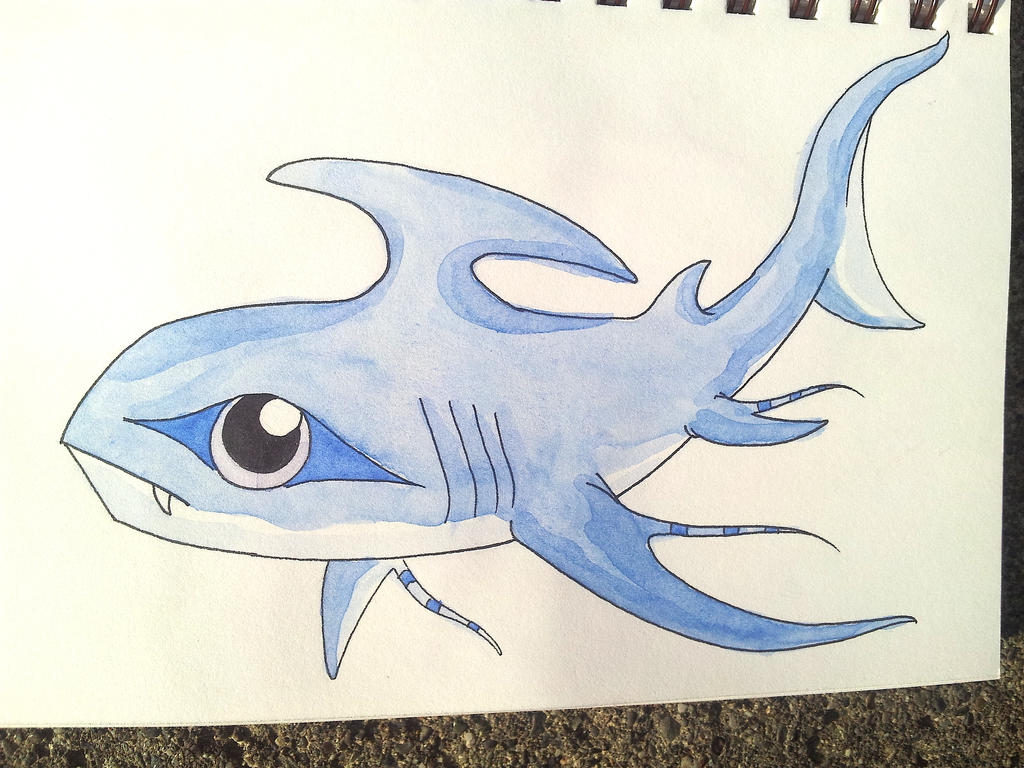 Blue fin fish by dwimmercrafter on deviantart for Blue fin fish