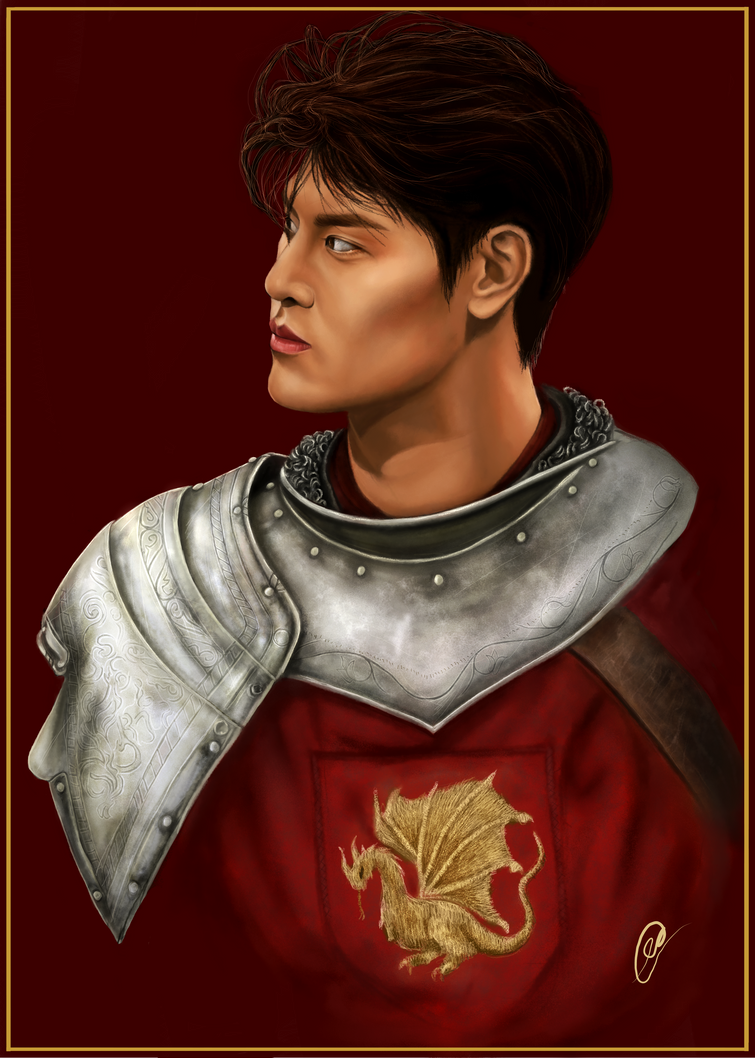 Tang Yi (HIStory 3: Trapped) as Arthur Pendragon by