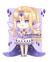 [OPEN] Auction : Amethyst Fairy by QuarniluZ