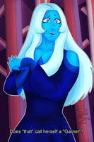 Call herself A Garnet? - BlueDiamond