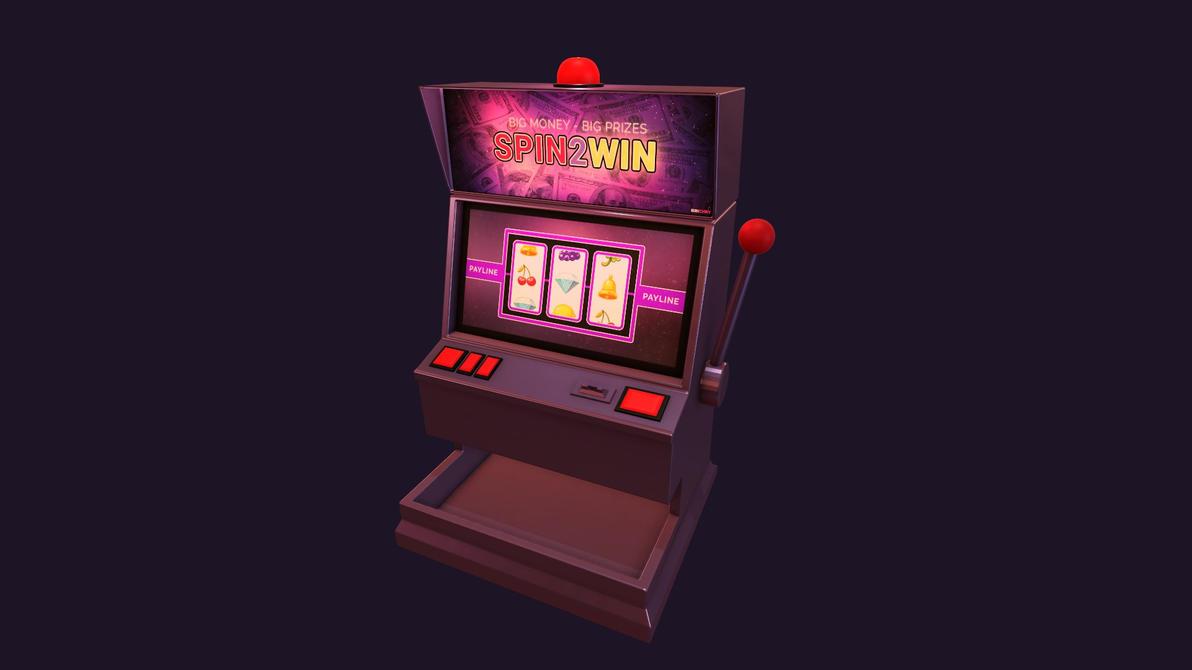 Slot Machine Th Birthday Cake