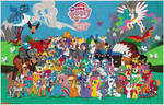 Full MLP poster bead Mosaic