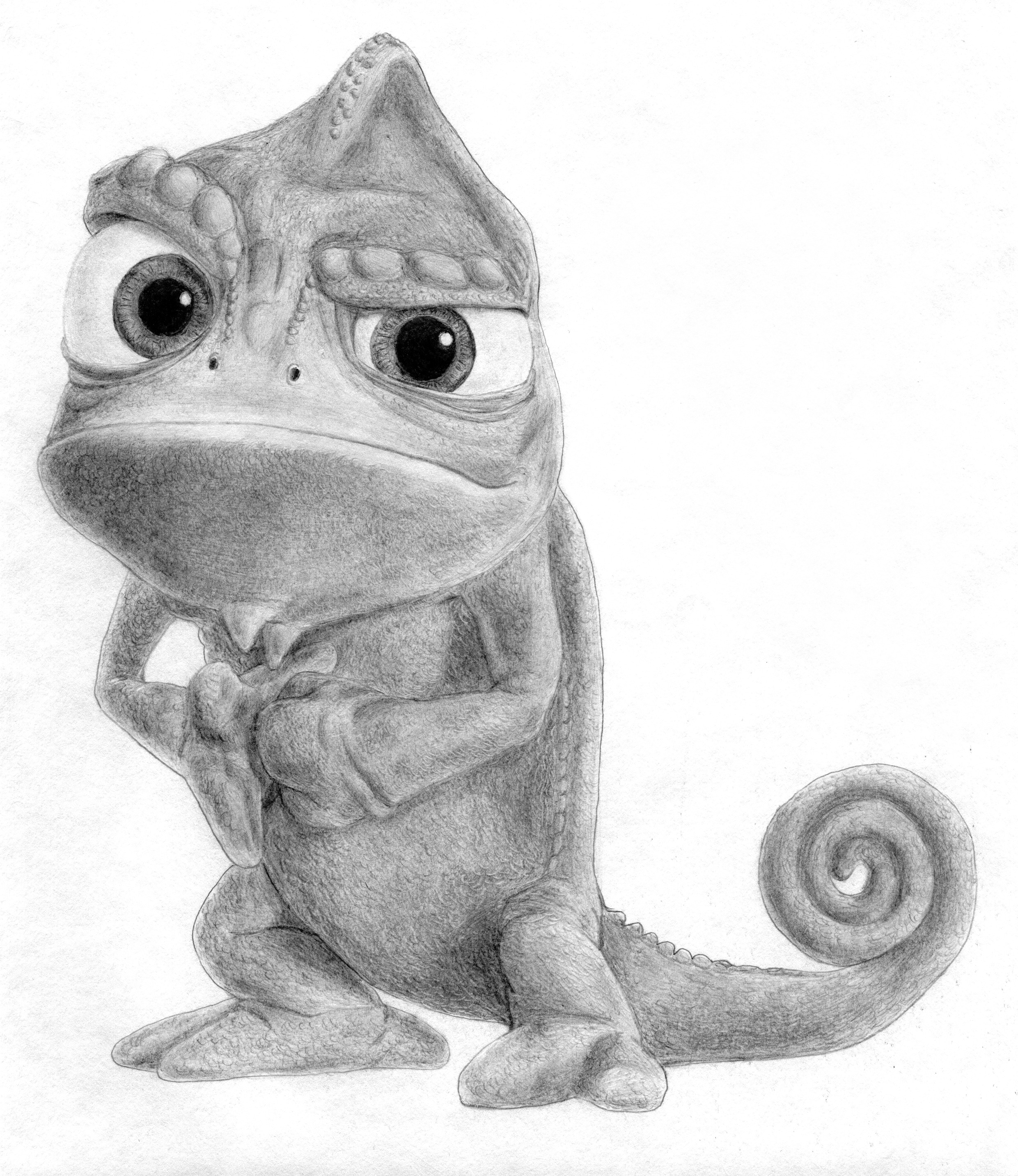 Pascal From Disney S Tangled By Bluefootednewt On Deviantart