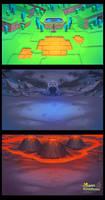 Nano backgrounds