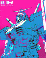 Gundam Rx78-2 by ZEBES