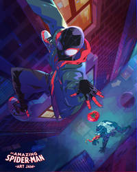 Spiderman x Tomato x Venom