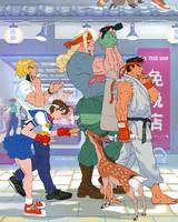 Street Fighter Art Jam