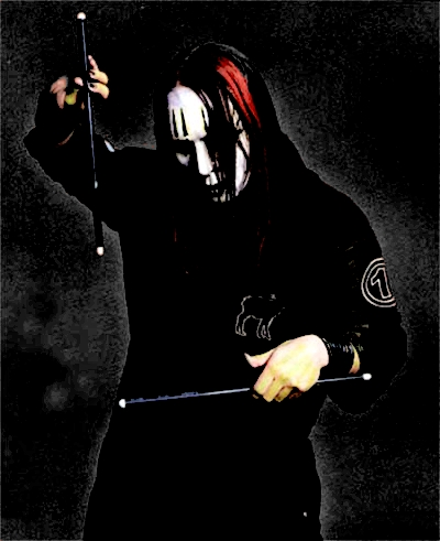 Joey Jordison Drums Wallpaper Joey Jordison Drumming Shadow
