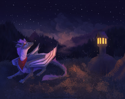 Stars among us - commission by Yessys