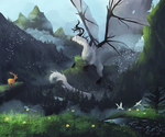 Old mountains - commission