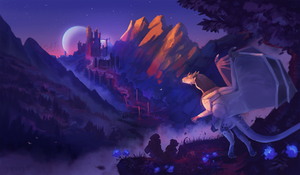 The Dark Castle - commission