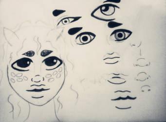 Eva Darling concept art. by mythicalmind