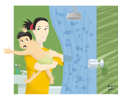 The Shower Nightmare