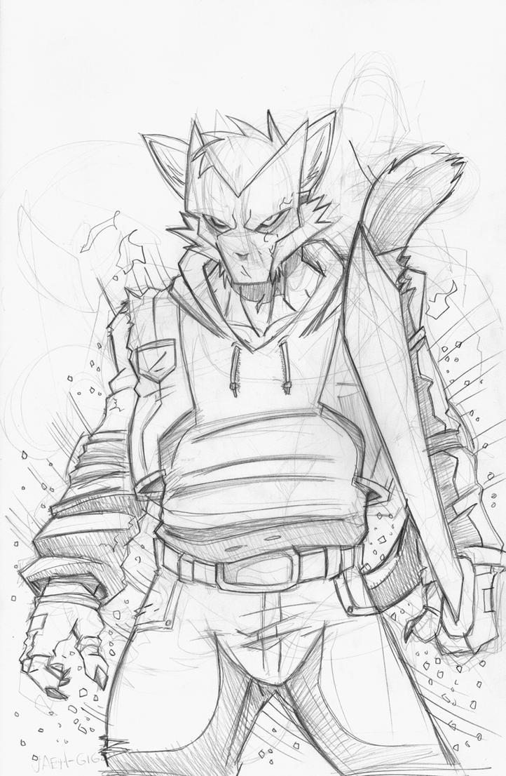 Dante Kat by Jaehthebird