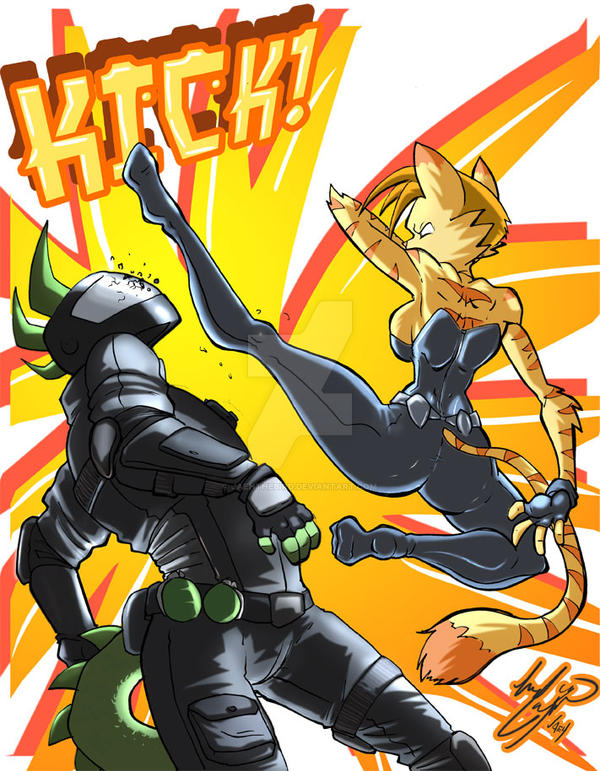 Loree's Kick by Jaehthebird