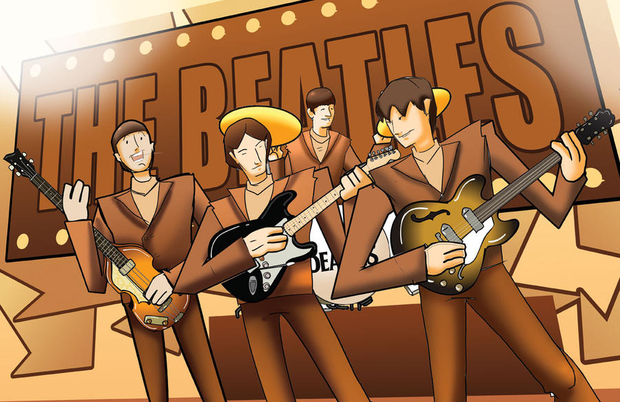 The Beatles by Jaehthebird