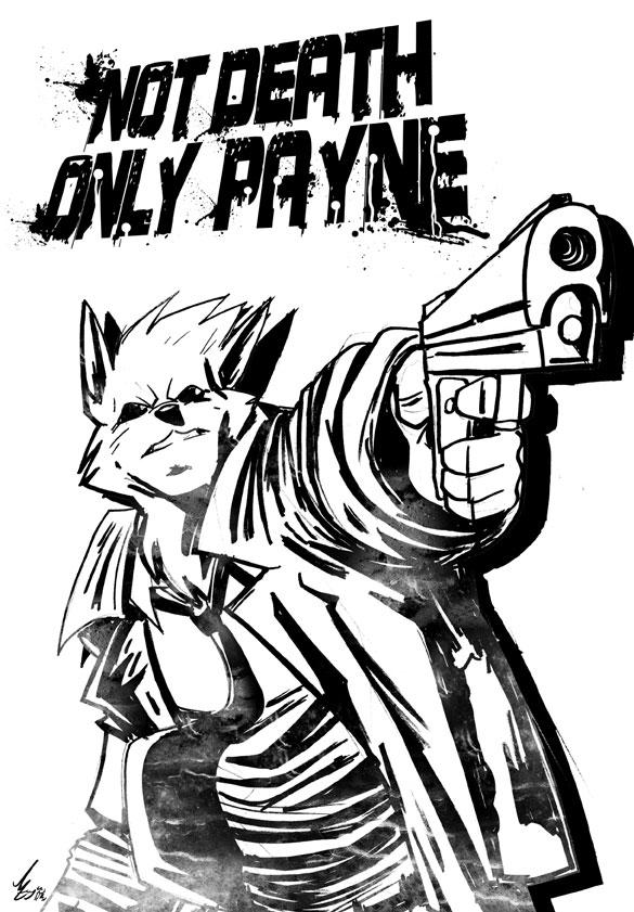 Max Payne by Jaehthebird