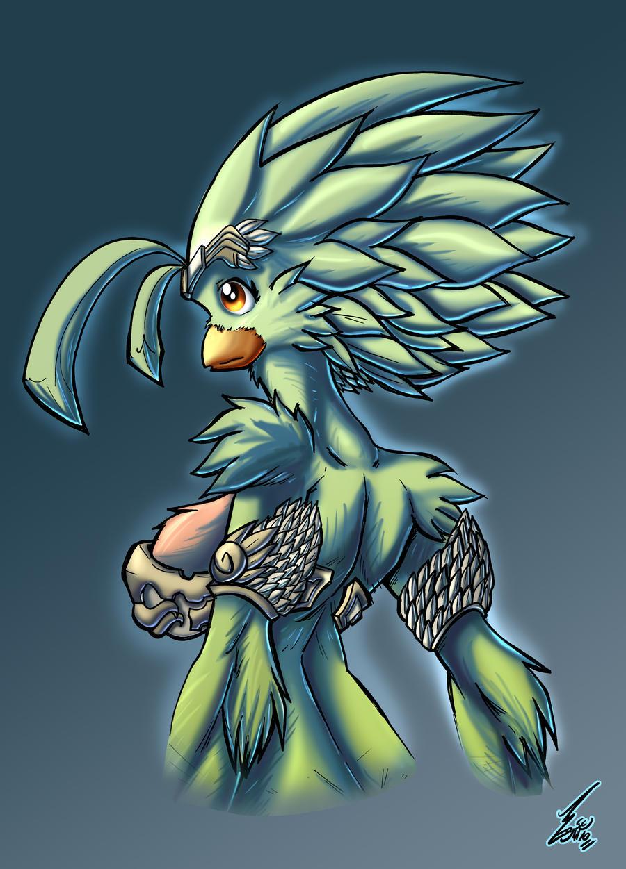 Diosa Quetzal by Jaehthebird