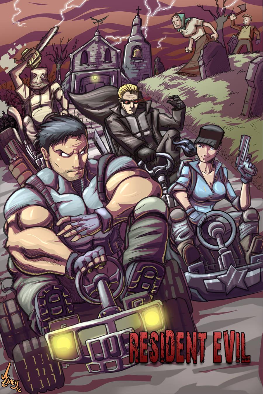 Resident Evil Kart by Jaehthebird