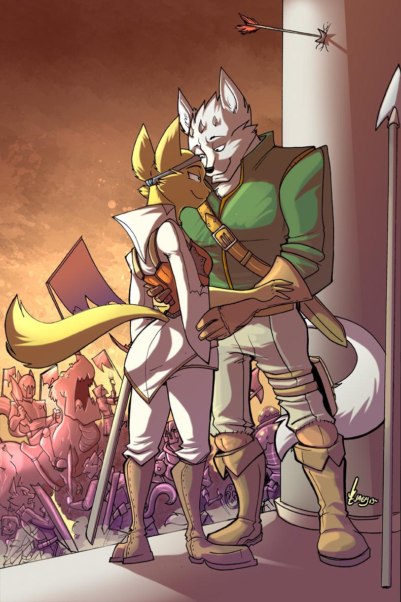 COM In the midst of battle... by Jaehthebird