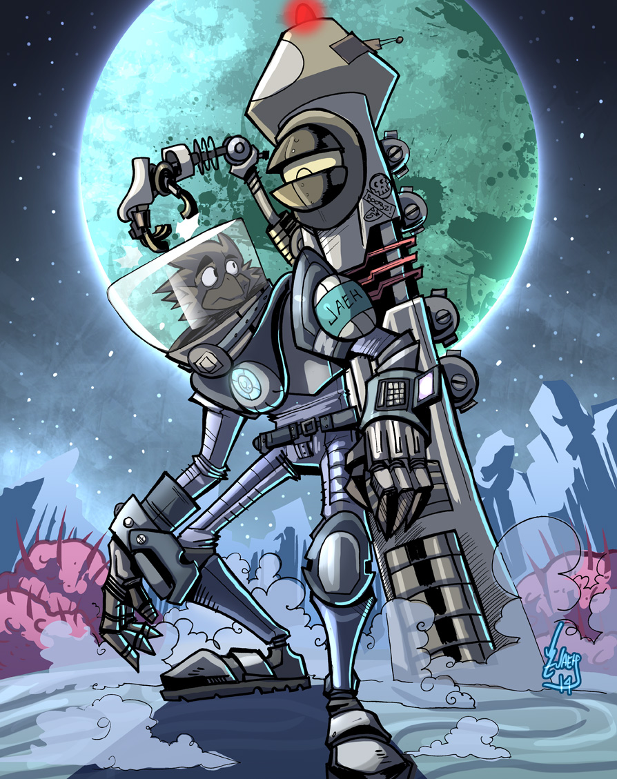 Space Burd! by Jaehthebird