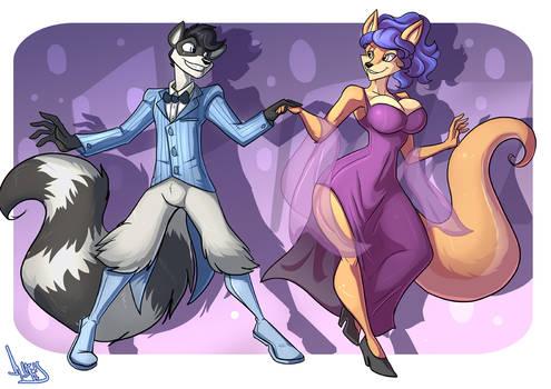 (COM) Sly and Carmelita be dancing!