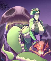 Reptilish Reptilian Reptile by Jaehthebird