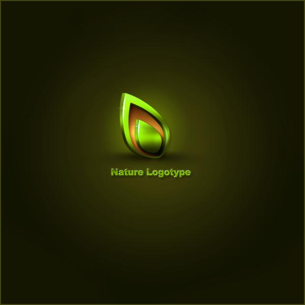 Logotype Nature by Esi0n