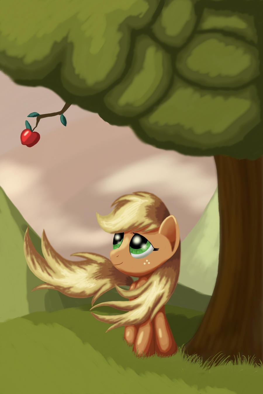 Last Apple by Grennadder