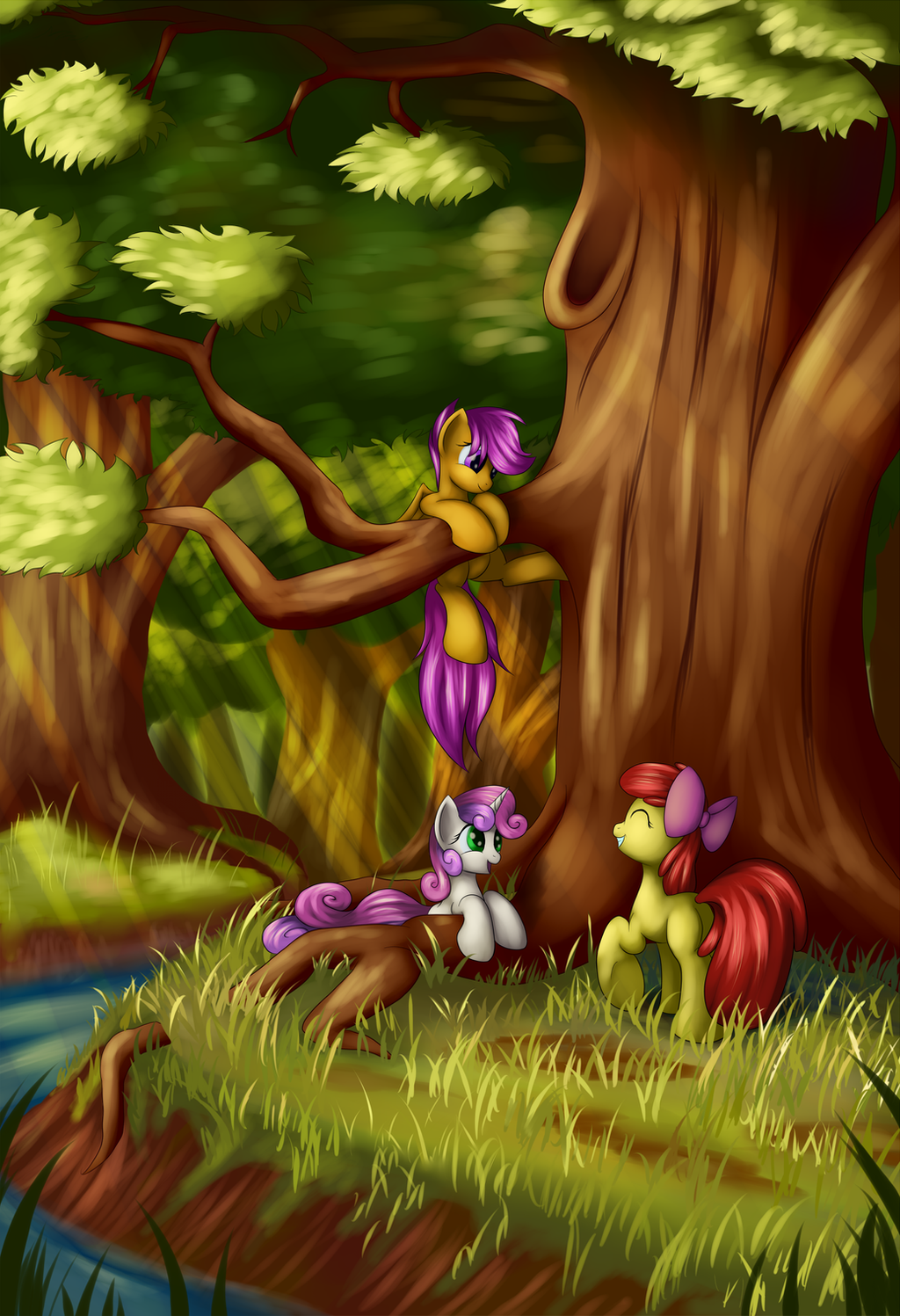 Forest Playground by Grennadder