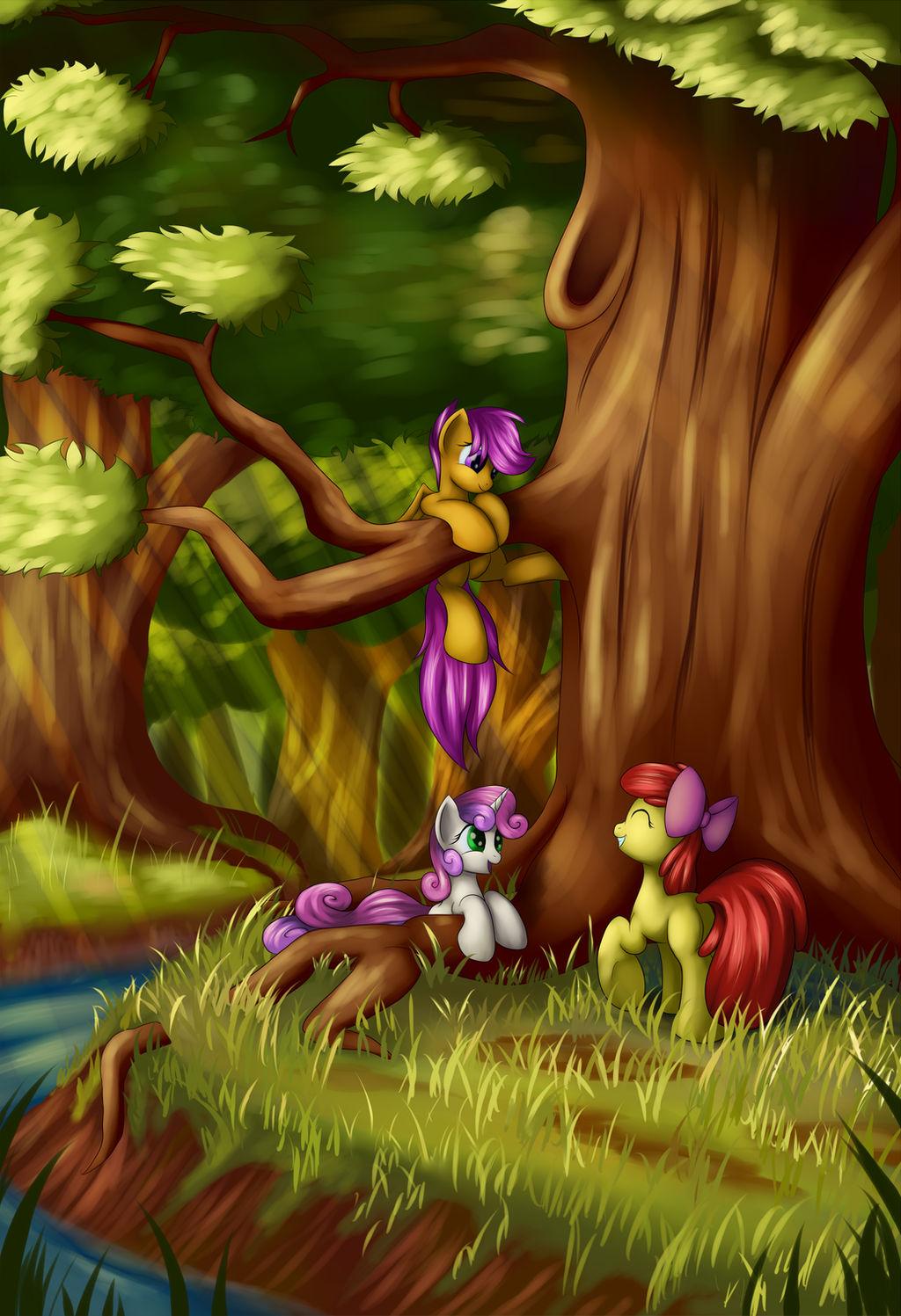Forest Playground by Grennadder