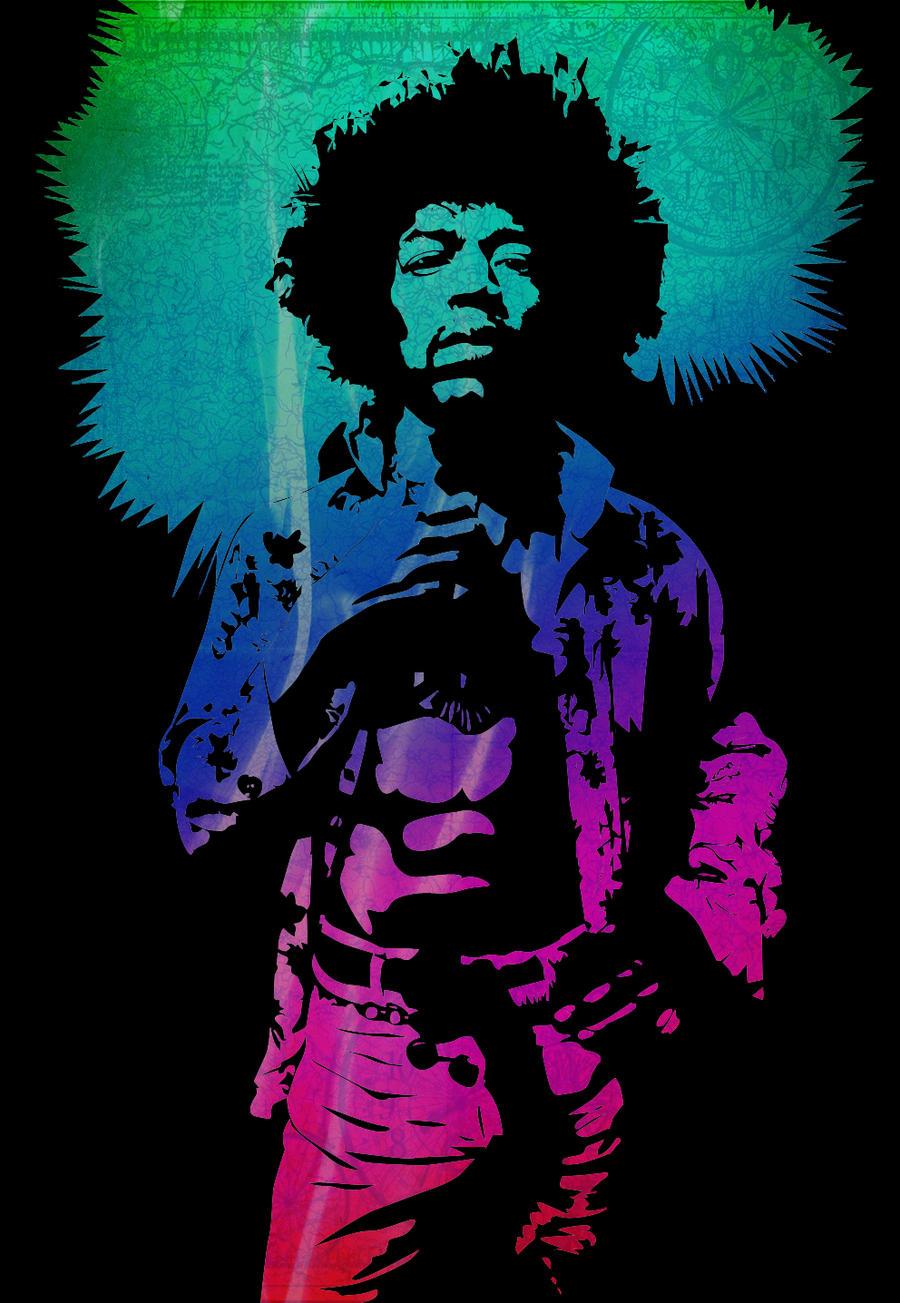 Jimi hendrix by eatasandwich89 on deviantart - Jimi hendrix wallpaper psychedelic ...