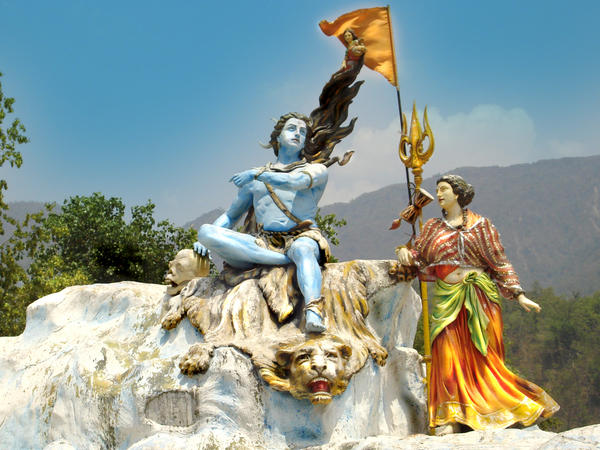 Lord shiva in Rishikesh by dinesh1201