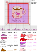 Pattern: A Cup of February by cathartic-dream