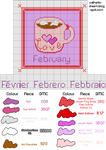 Pattern: A Cup of February