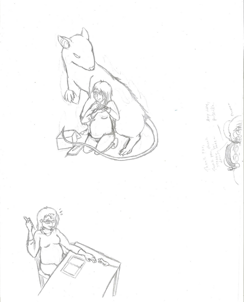 A quick doodle of Priscilla by Arctic-Master