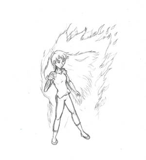 Yoko Burning Bright