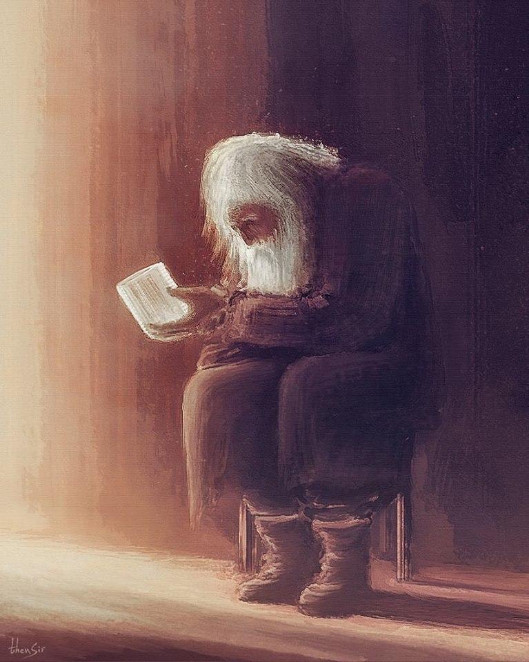 Elder Dobry - The Silent Angel by thenSir