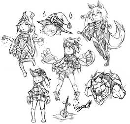 Some Sketches by Sayuqt