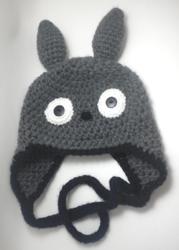 Crochet Pattern Totoro Hat : Totoro Hat by StitchedLoveCrochet on DeviantArt