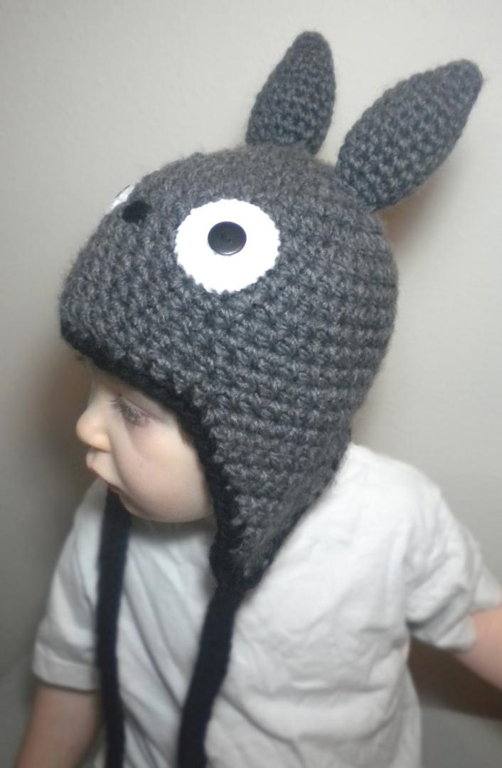 Crochet Pattern Totoro Hat : Totoro Hat by npierce122 on deviantART
