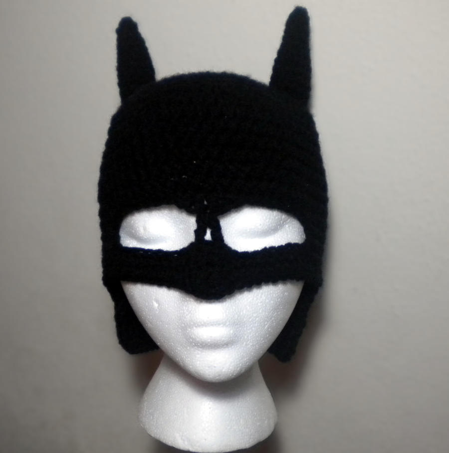 Free Crochet Pattern For Batman Hat : Batman Hat by StitchedLoveCrochet on DeviantArt