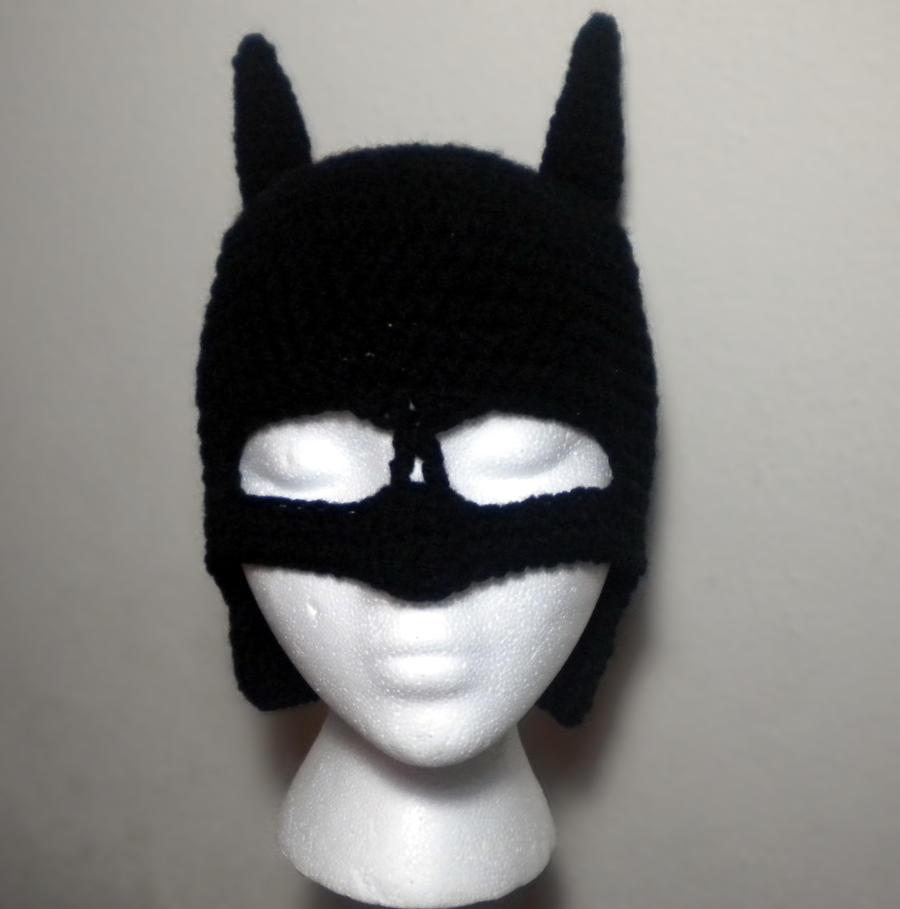 Batman Hat by StitchedLoveCrochet on DeviantArt