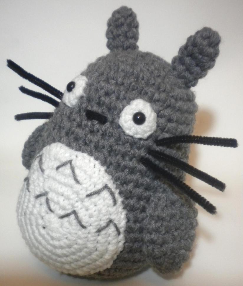 Amigurumi Ninja Turtles Pattern : Totoro Amigurumi by StitchedLoveCrochet on DeviantArt